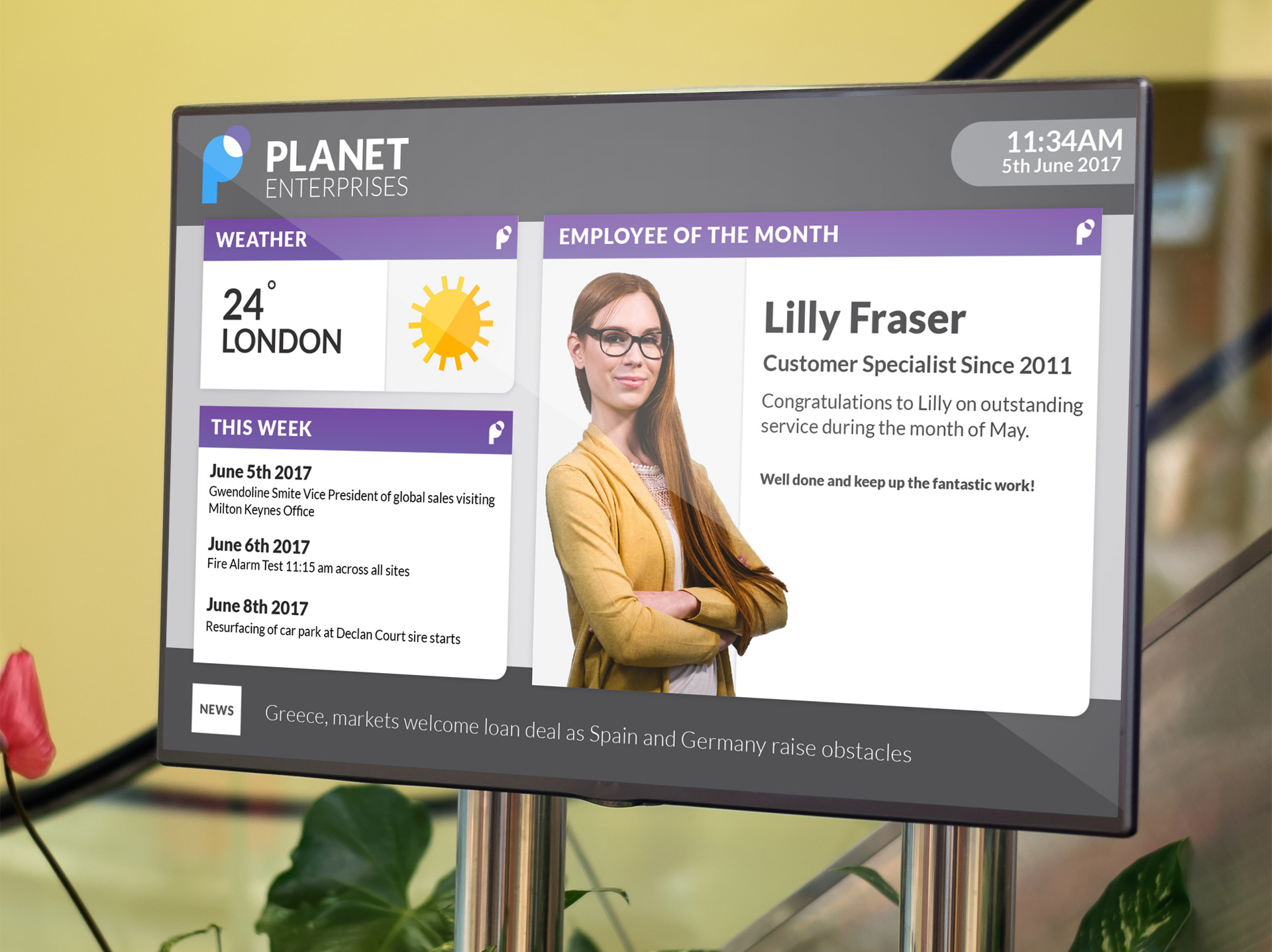 Planet eStream Digital Signage